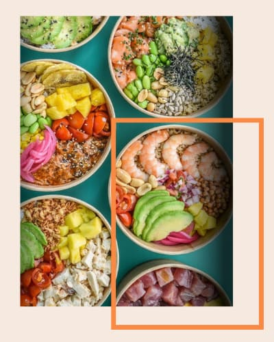 emballages Poké Bowl